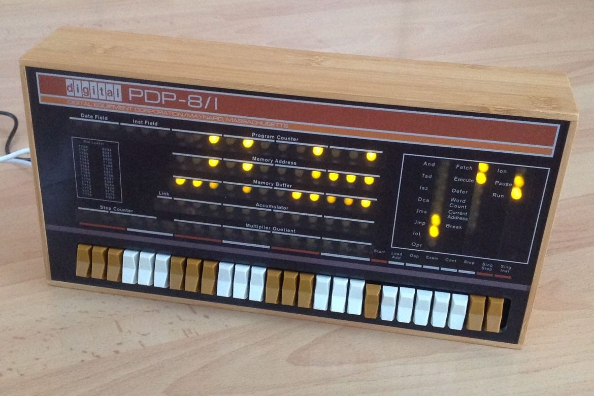 Re-living computing history with a PDP-8 (Raspberry Pi)