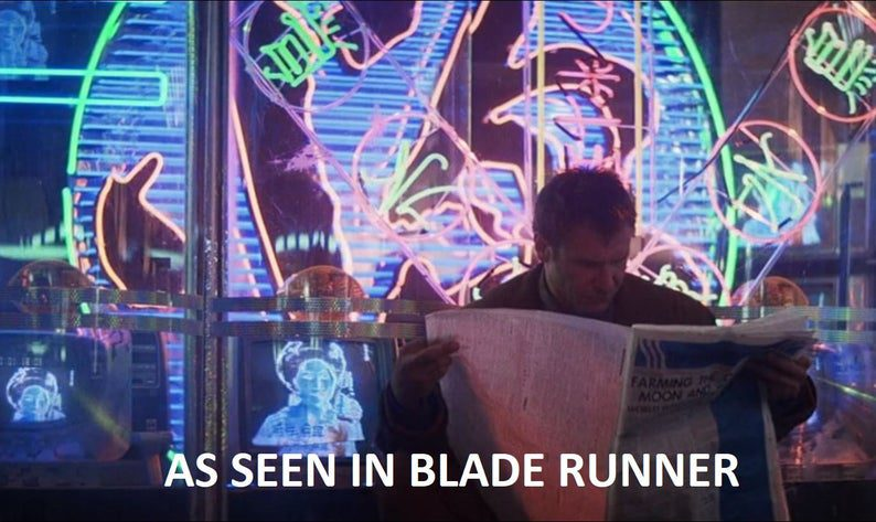 This Etsy store is selling neon from Blade Runner