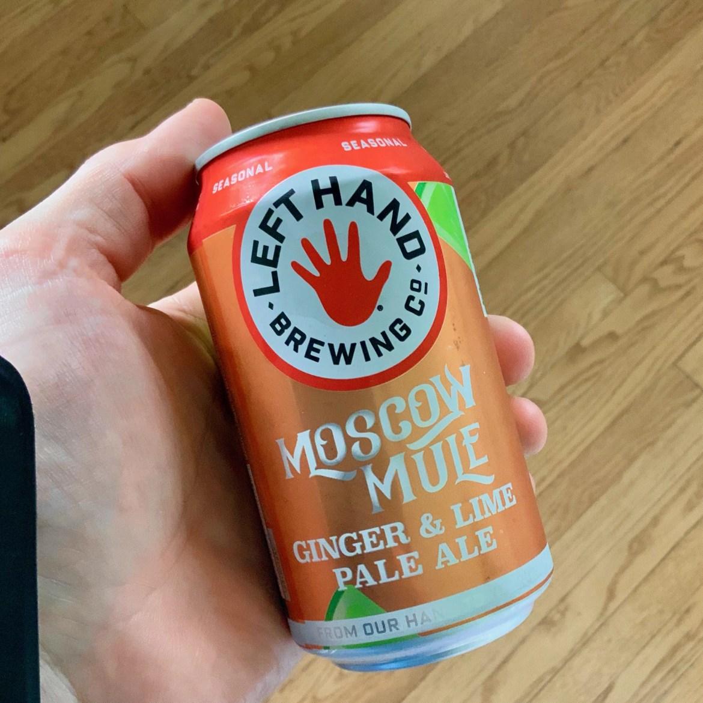 Afternoon Beer Break: Left Hand Brewing Moscow Mule