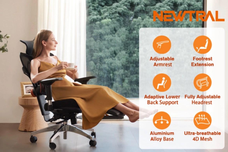 Now Funding: Newtral Ergonomic Chair