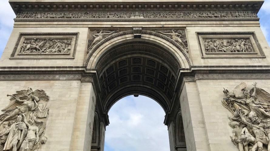 乳幼児連れのパリ旅行5(2日め・凱旋門)