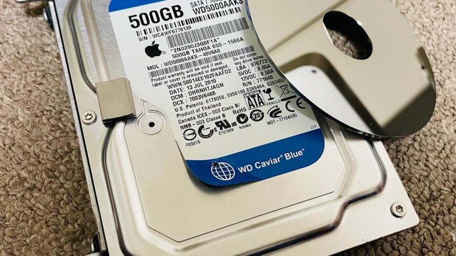 100均商品だけでiMacを開きハードディスク破壊