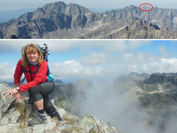 Marta mountaineering August 2017