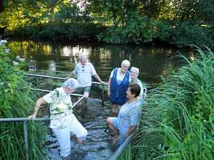 Kneippverein Bad Bevensen Wassertreten