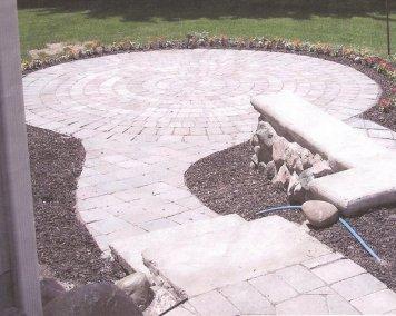 Paver Circle