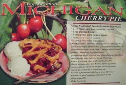 Cherry Pie - recipe