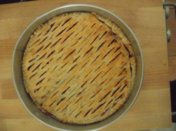 Cherry Pie - fresh from the oven