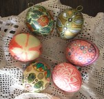 Easter Eggs designed with different techniques