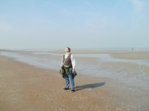 me at the shore ... enjoying 20°C