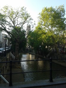 """Oudegracht (""""old canal""""... in Utrecht"""