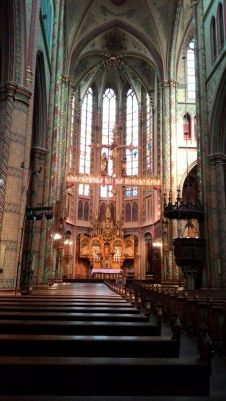 St. Willibrordskerk Utrecht - St Willibrord's is one of the finest remaining examples of the Gothic Revival built between 1875 and 1879. The church is almost completely hidden from view by its surrounding buildings so the rich interior is completely surprising. http://www.sintwillibrorduskerk.nl/english/