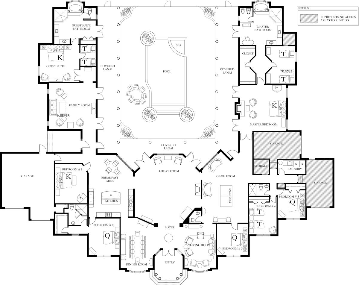 Floor Plans Knickerbocker Naples Florida