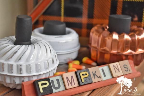 Tart Mold Pumpkins by
