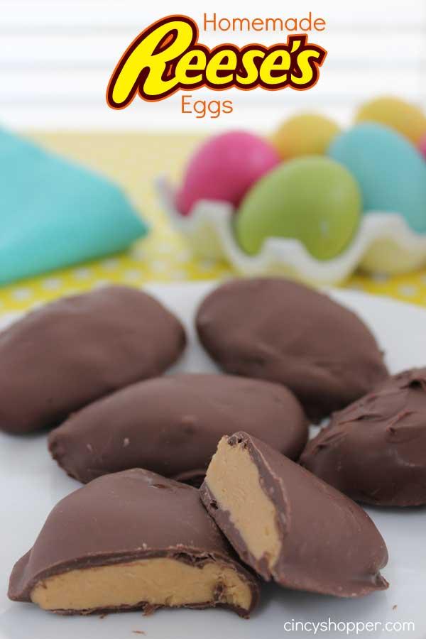 Homemade Reese's Eggs