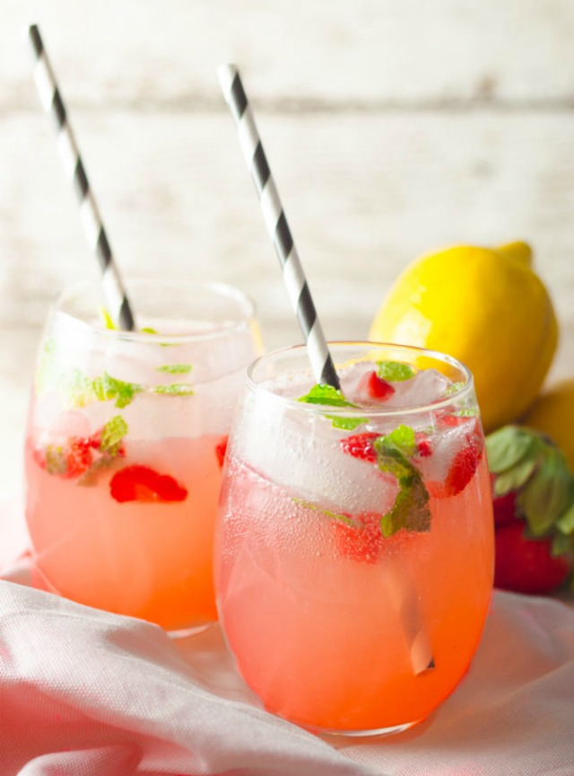 Strawberry Mint Lemonade by Quirky Inspired