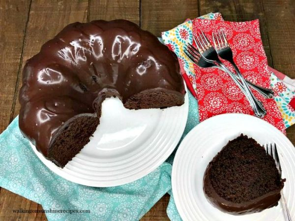 Chocolate Brownie Cake Walking On Sunshine