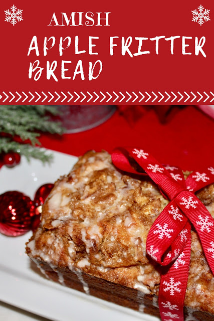 Amish Apple Fritter Bread recipe by Living On Cloud Nine