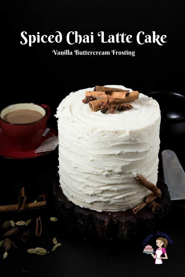 Chai Latte Layered Cake