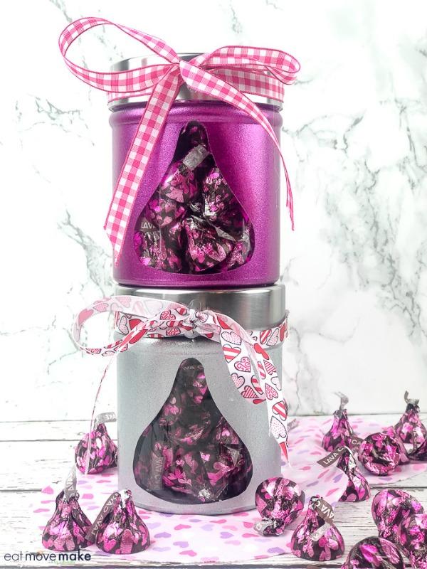DIY Valentine's Day Candy Jars