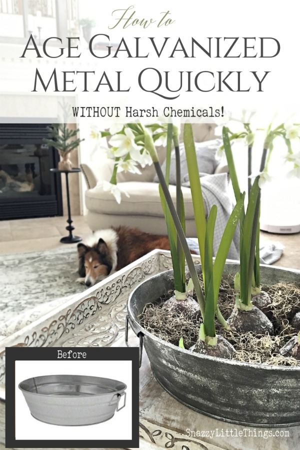 How to Age Galvanized Metal Quickly