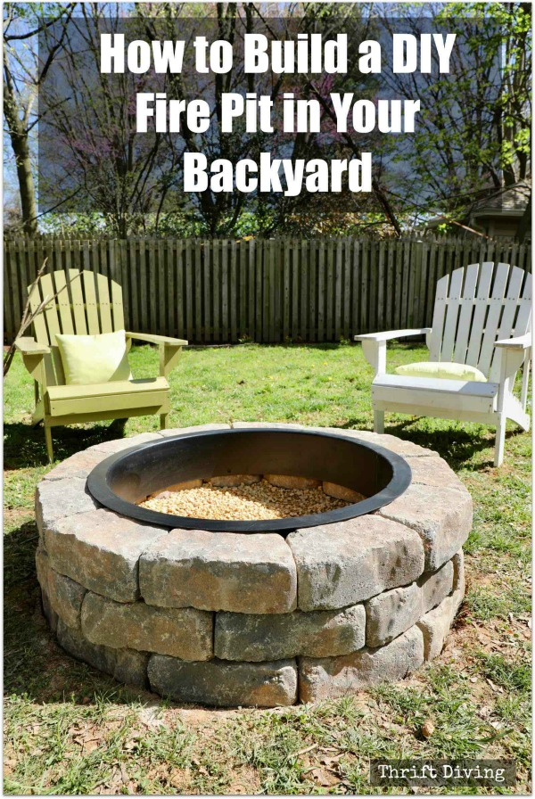 How to Build a DIY Fire Pit in Your Backyard
