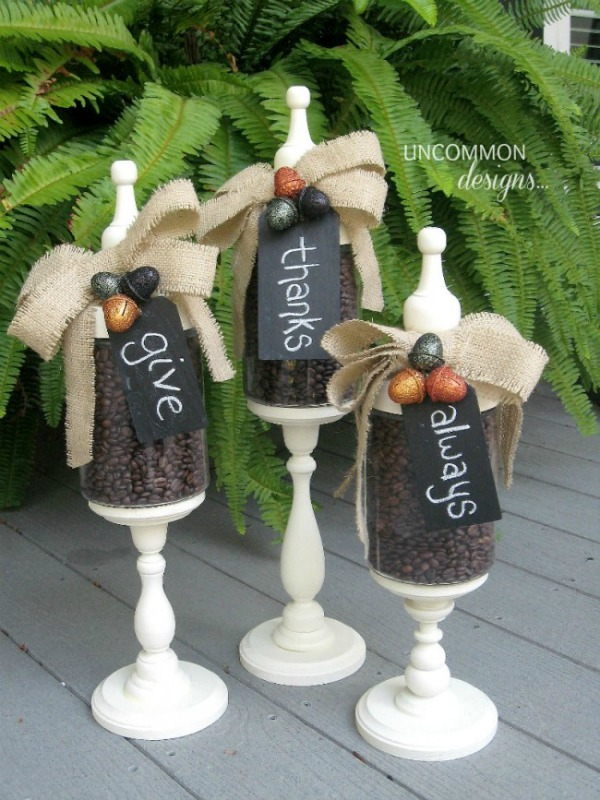 How to Make Fall Apothecary Jars