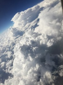 Above the clouds of BA