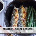 grilled mackerel pinterest image