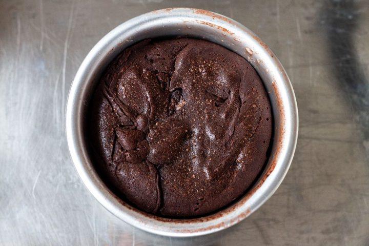 baked lava cake