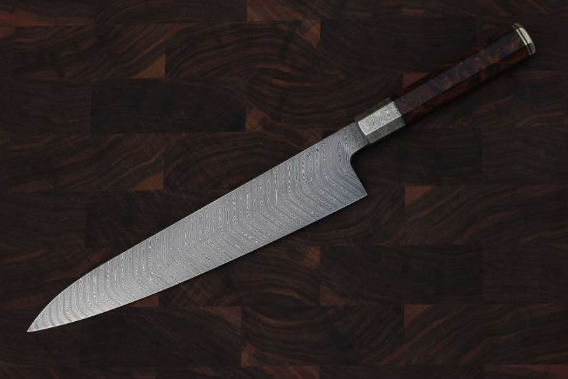 Five Myths About Damascus Steel Knife Steel Nerds Cool Pattern Welded Steel