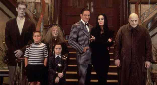 Charles Addams - Tim Burton