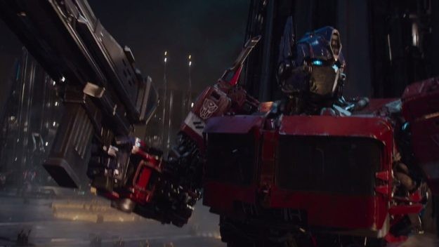 Optimus Prime - Shockwave