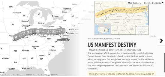 Introducing an updated StoryMap interface and authoring tool.