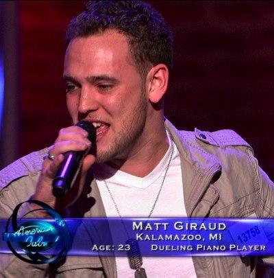 Matt Giraud from Kalamazoo, MI