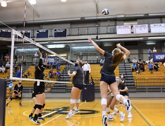Varsity Volleyball Looks to Young Talent