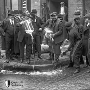 Tamp prohibition-era alcohol smuggling