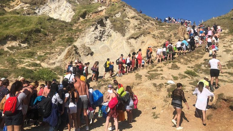 Three people seriously injured cliff-jumping in Dorset
