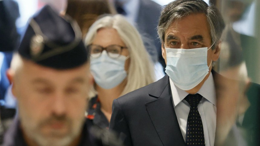Former French PM Fillon sentenced to jail over fake jobs scandal involving his wife