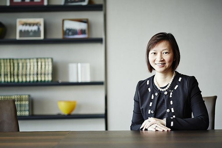OUE C-Reit manager CEO aims to inspire people to new heights