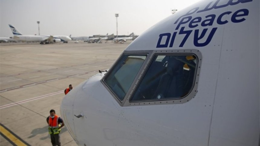 Israel and UAE in historic direct flight following peace deal