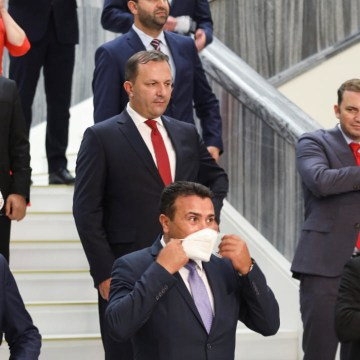 North Macedonia's parliament approves new left-wing coalition government