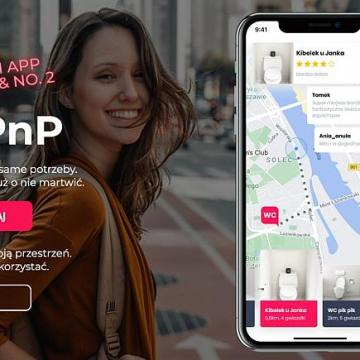 Airpnp: Polish activists cause a stink with toilet-sharing app stunt