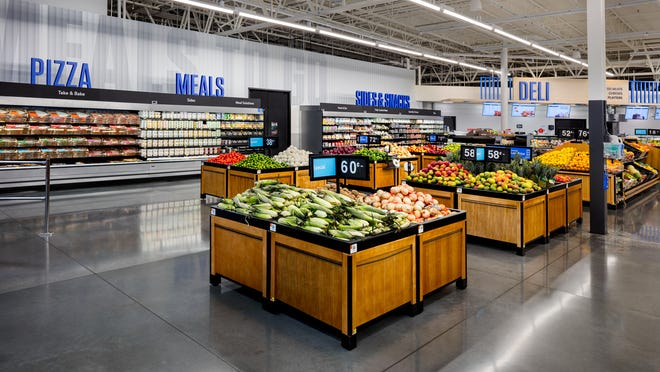 Walmart unveils store design with self-checkout kiosks, contactless options rolling out to Supercenters
