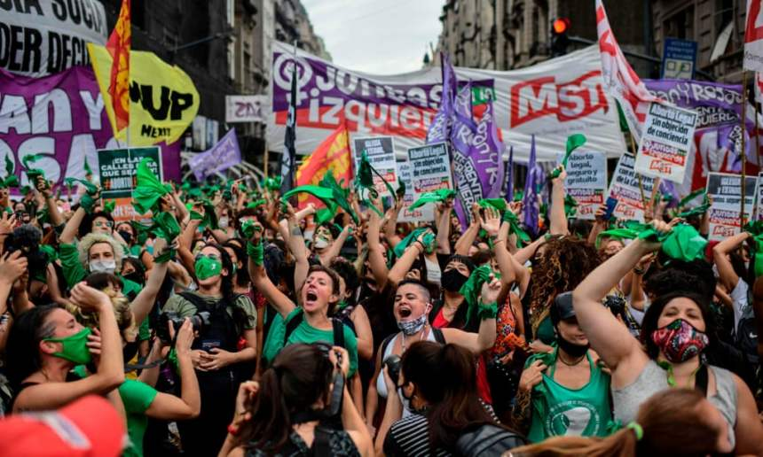 Argentina's lower house approves landmark abortion bill
