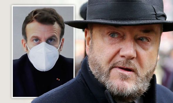 'Sturgeon won't stop me!' Galloway unleashes furious rant after France blocks UK lorries
