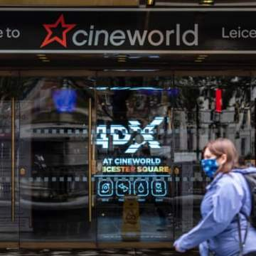 Cineworld to reopen UK cinemas in May and US Regal theatres at Easter