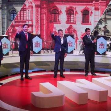 'People don't want any of them': Peru election sees unpredictable contest