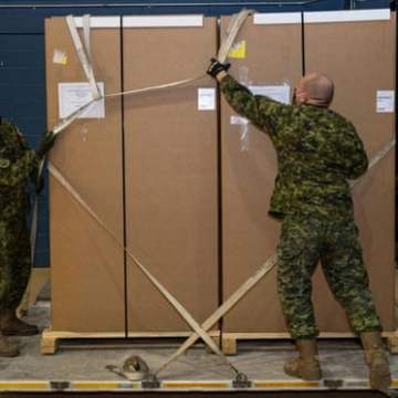 Canadian soldier faces mutiny charges for trying to block vaccine distribution