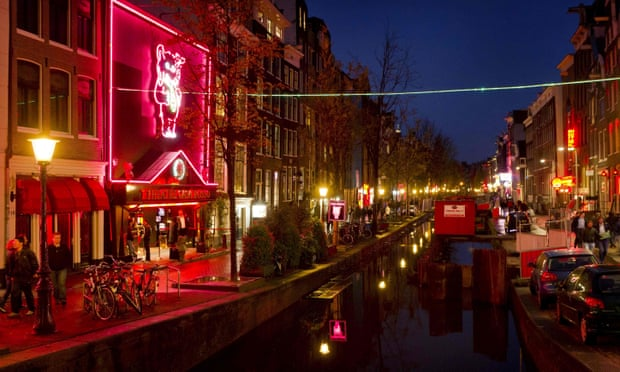 Amsterdam plans out-of-town 'erotic centre' as part of cleanup bid