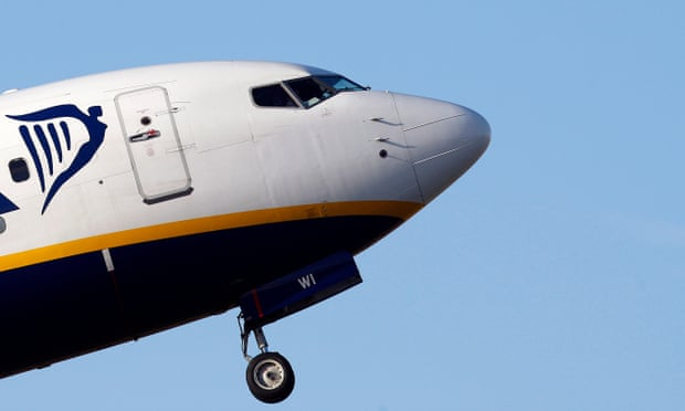 Ryanair to stop all flights from Northern Ireland